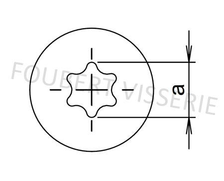 Empreinte-vis-metaux-tete-cylindrique-bombee-large-din7985-torx