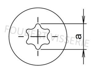 Empreinte-vis-metaux-tete-cylindrique-bombee-large-torx-iso14583