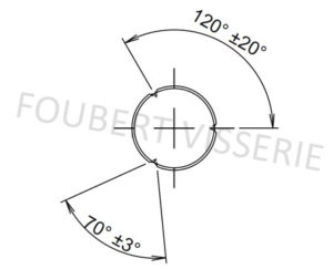 Empreinte-Goupille-cannelee-bombee-din1475-iso8742