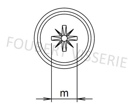 Empreinte-Vis-a-tole-tete-cylindrique-a-embase-pozidriv-a-pointe-din968c