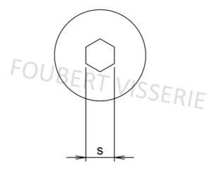 Empreinte-vis-metaux-tete-cylindrique-extra-basse-hexagonale-creuse