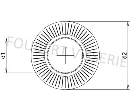 Plan-Rondelle-contact-cs-serie-etroite-cs-nfe25511