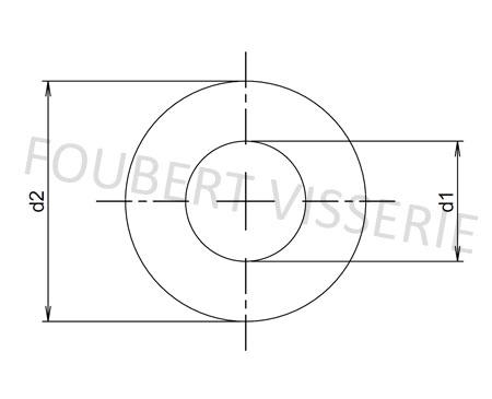 Plan-Rondelle-elastique-ondulee-deux-ondes-din137b
