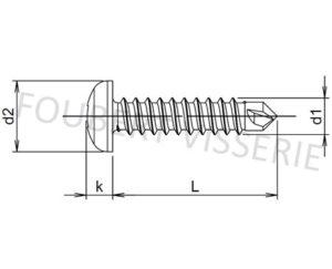 Plan-Vis-autoperceuse-tete-cylindrique-bombee-empreinte-carree-din7504m