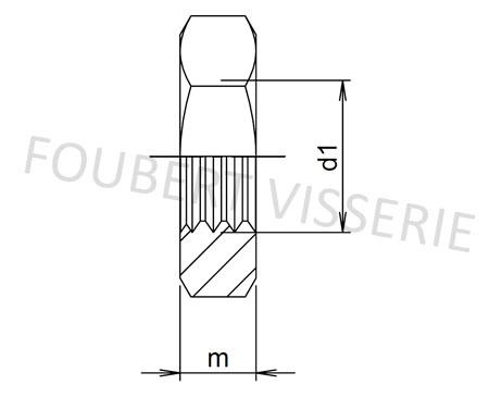 Plan-ecrou-bas-hm-din439b-iso4035