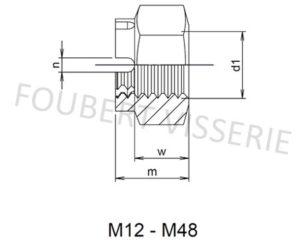 Plan-ecrou-creneau-m12-m48-din935