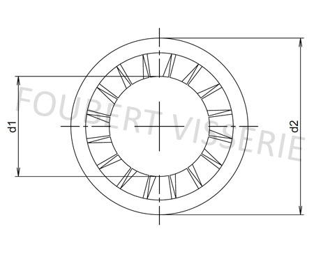 Plan-rondelle-eventail-a-denture-exterieur-din6798j
