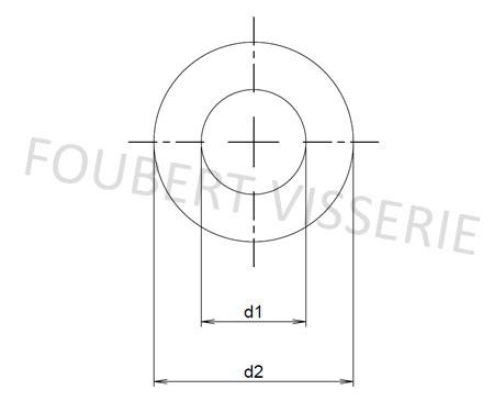 Plan-rondelle-sans-chanfrein-din125a-iso7089