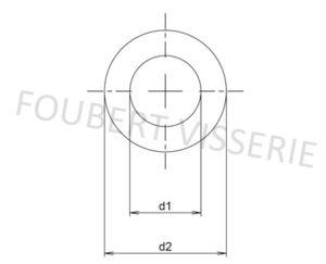 Plan-rondelle-sans-chanfrein-pour-vis-tete-cylindrique-din433-iso7092