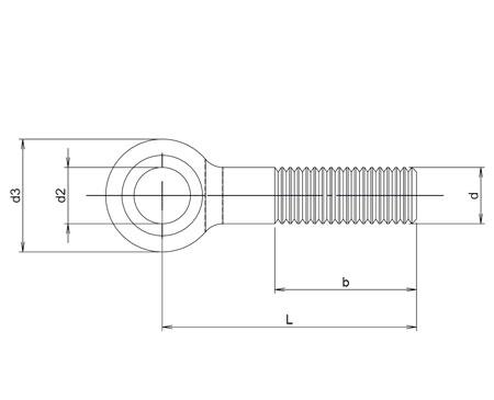 Plan-vis-a-metaux-tete-ronde-a-oeil-din444b