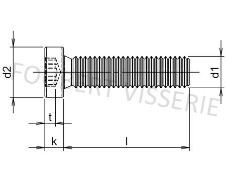 Plan-vis-metaux-tete-cylindrique-basse-torx-iso14580