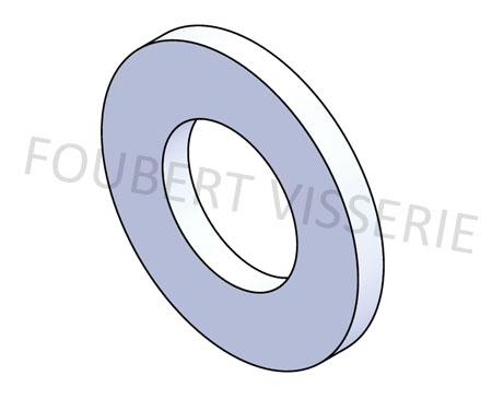 Rondelle-sans-chanfrein-din125a-iso7089