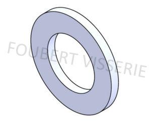 Rondelle-sans-chanfrein-pour-vis-tete-cylindrique-din433-iso7092