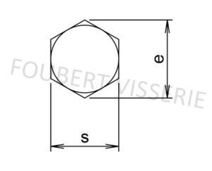 Tete-Vis-a-tole-tete-hexagonale-a-pointe-din7976c-iso1479