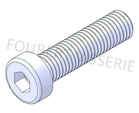 Vis-metaux-tete-cylindrique-basse-hex-creuse-filetage-din7984