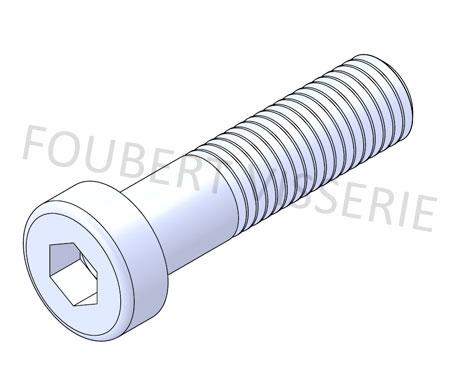 Vis-metaux-tete-cylindrique-basse-hex-creuse-filetage-partiel-din7984