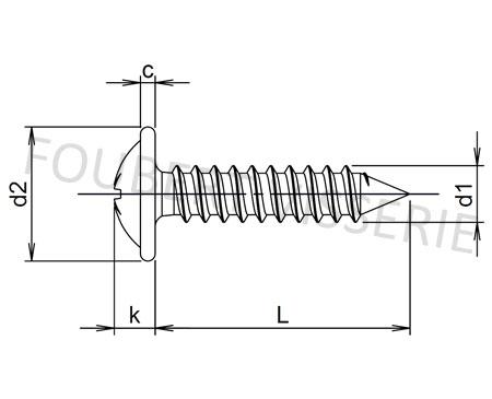 plan-Vis-a-tole-tete-cylindrique-a-embase-pozidriv-a-pointe-din968c