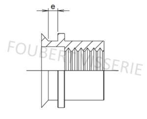 2-plan-Ecrou-a-sertir-cylindrique-tete-fraisee-lisse-ouvert-alu