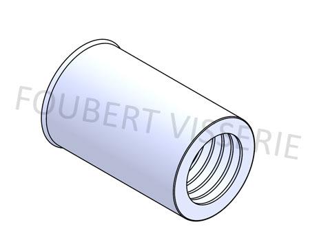 Ecrou-a-sertir-cylindrique-tete-reduite-lisse-ouvert-inox