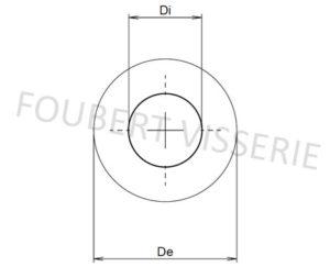 Plan-Rondelle-a-plateau-din2093-abc