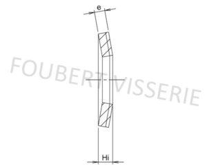 Plan-en-coupe-Rondelle-conique-cl-nfe25510