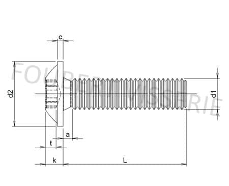 Plan-Vis-tete-cylindrique-ronde-torx-nfe25110